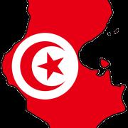 Tunisia_flag_map
